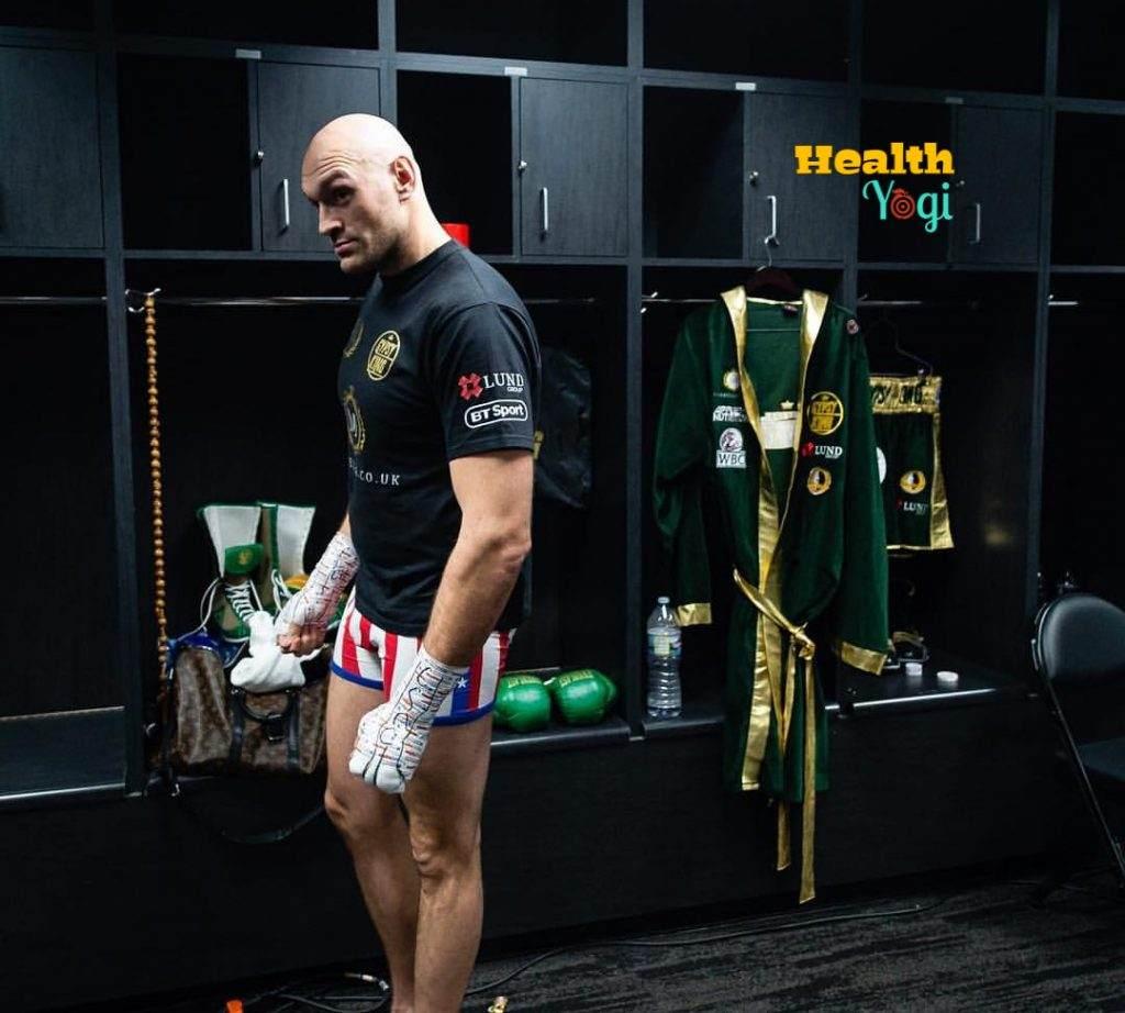 Tyson Fury fitness