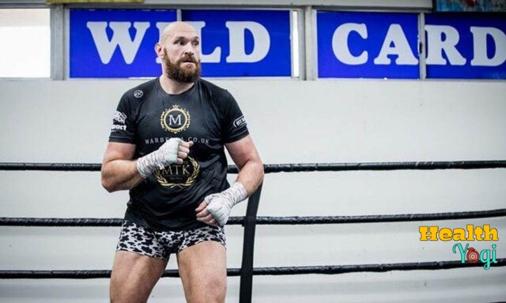 Tyson Fury Workout Routine