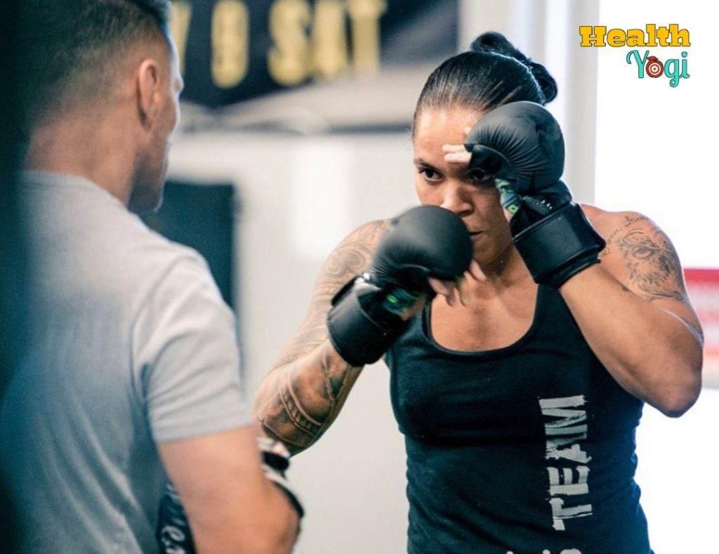 Amanda Nunes Training