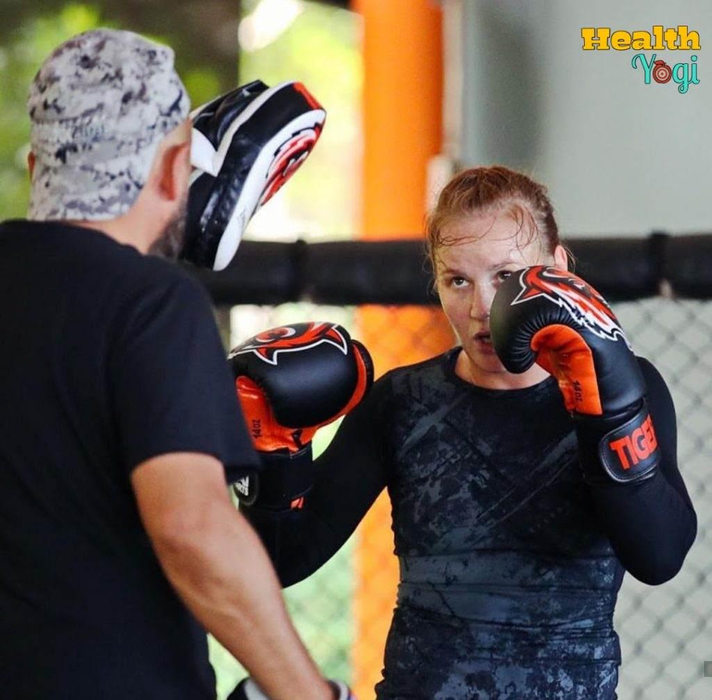 Valentina Shevchenko Workout Routine