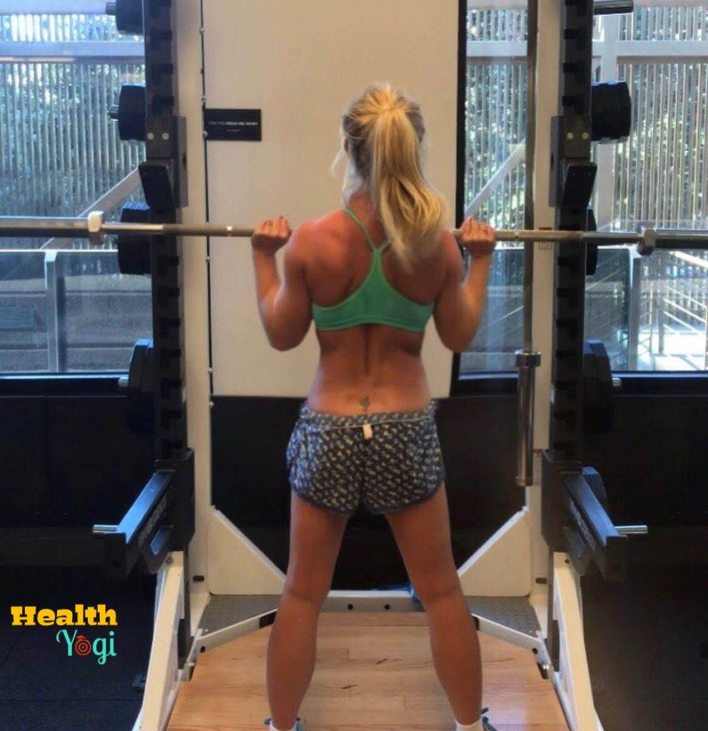 Britney Spears Exercise at Gym