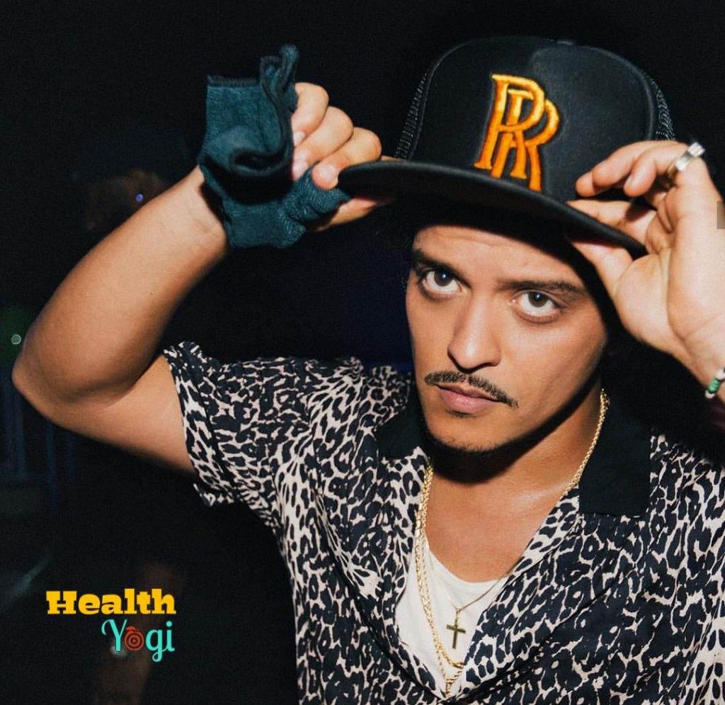 Bruno Mars meal