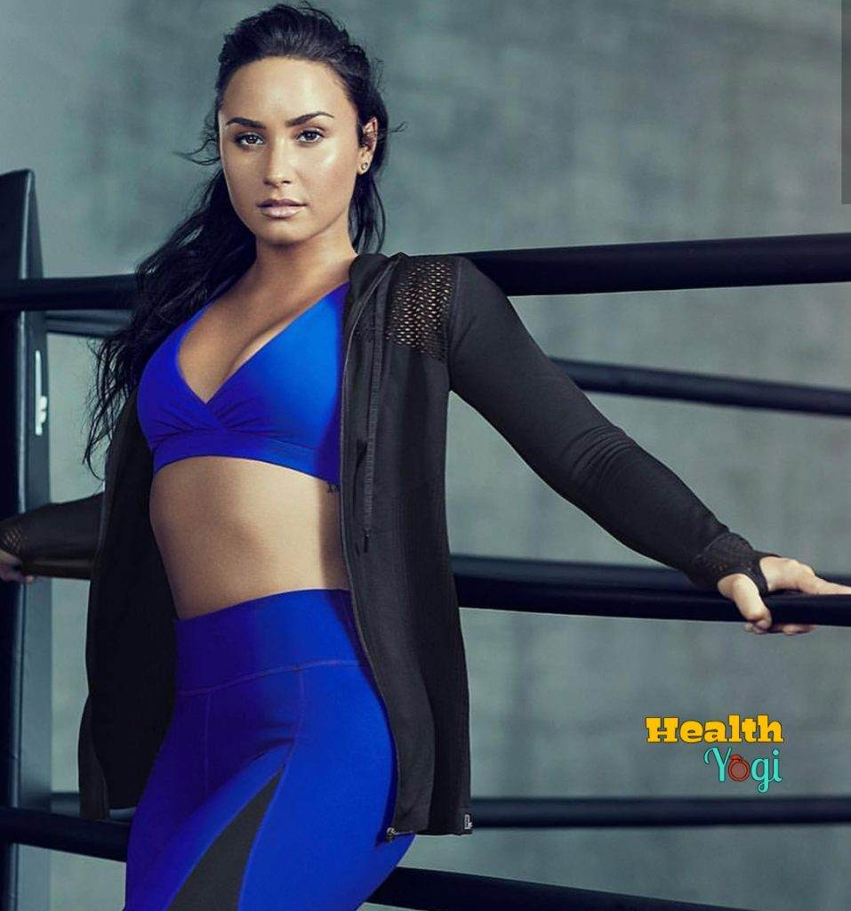 Demi Lovato Workout Routine and Diet Plan
