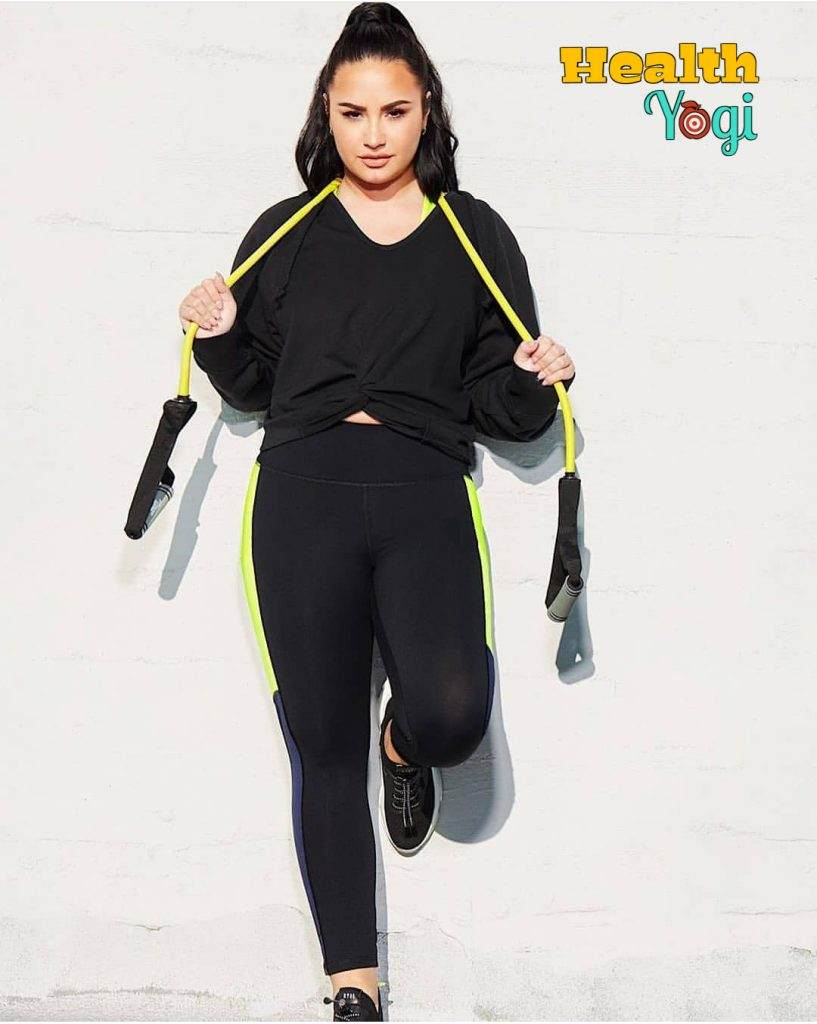 Demi Lovato Exercise Training