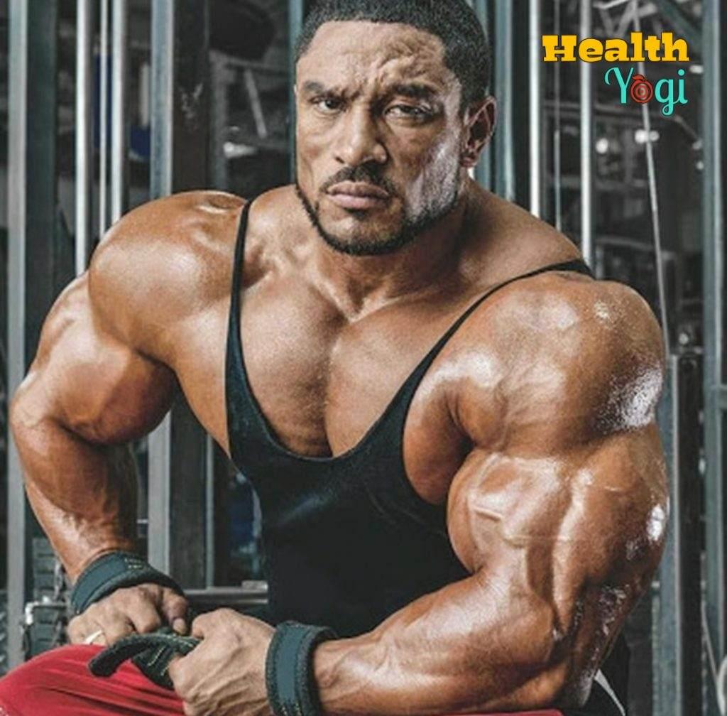 Bodybuilder Roelly Winklaar Workout Routine and Diet Plan
