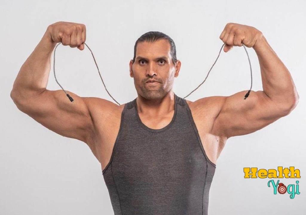 The Great Khali Workout Routine