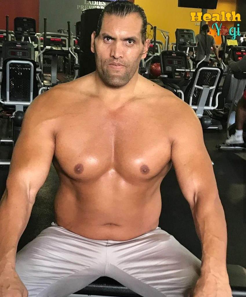Dalip Singh Rana Khali at gym