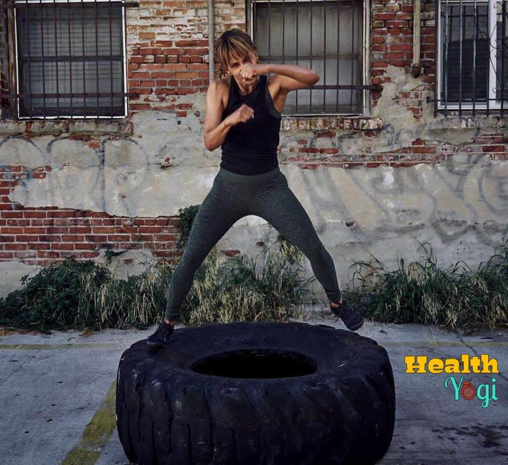 Halle Berry MMA Training