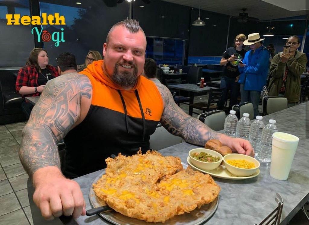 Eddie Hall Diet Plan