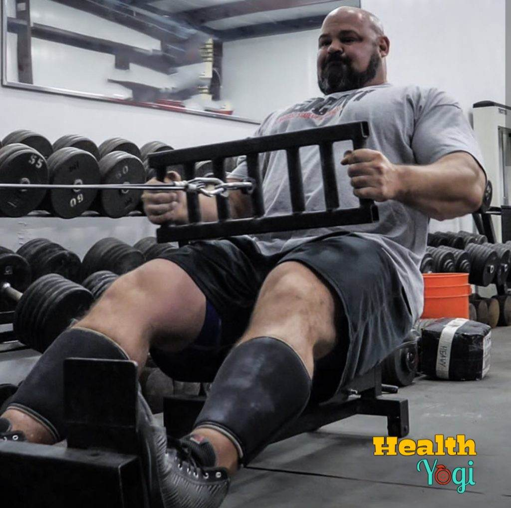 Brian Shaw Back Workout