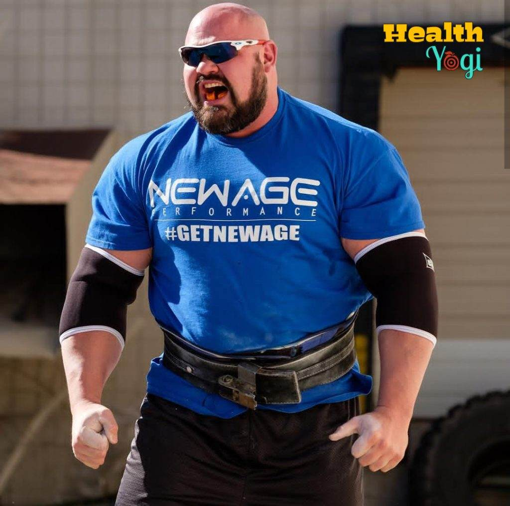 Brian Shaw Workout Routine and Diet Plan
