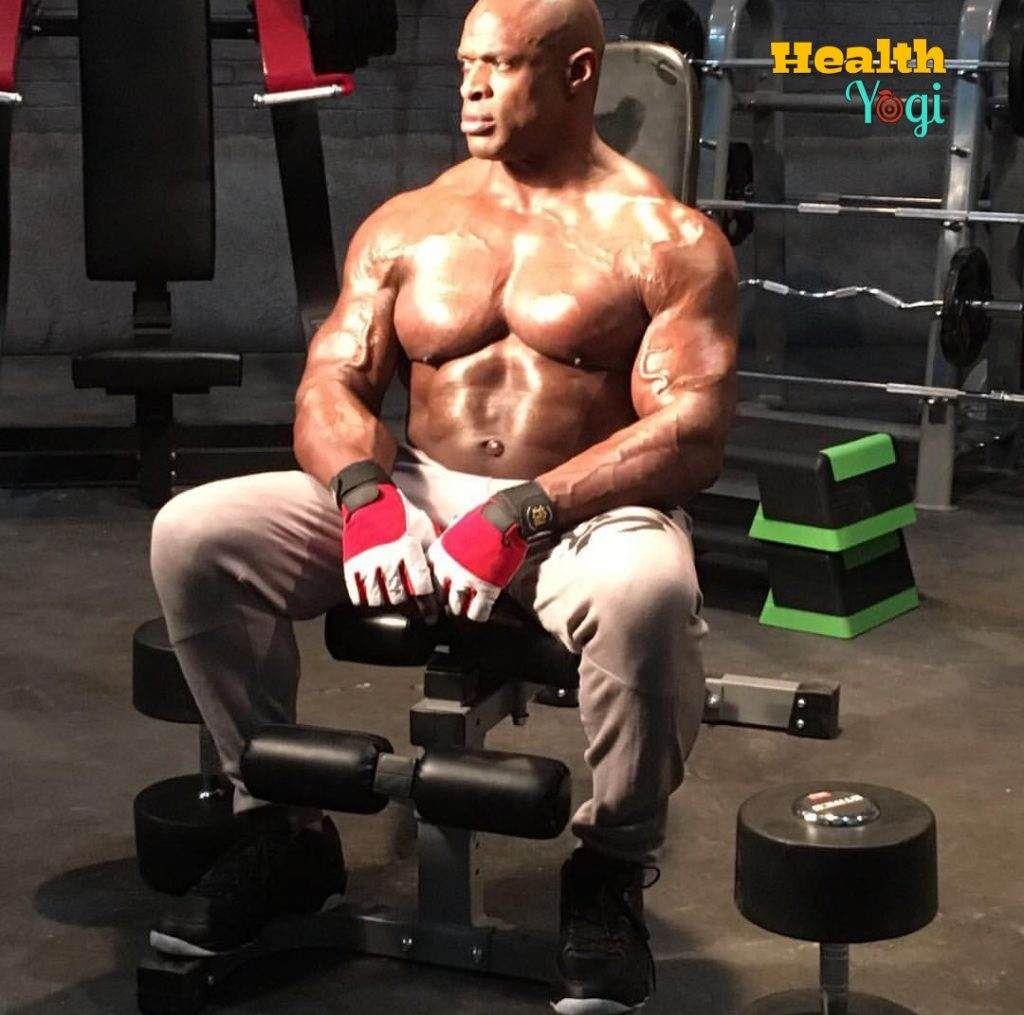 Ronnie Coleman exercise