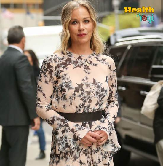 Christina Applegate Workout Routine and Diet Plan