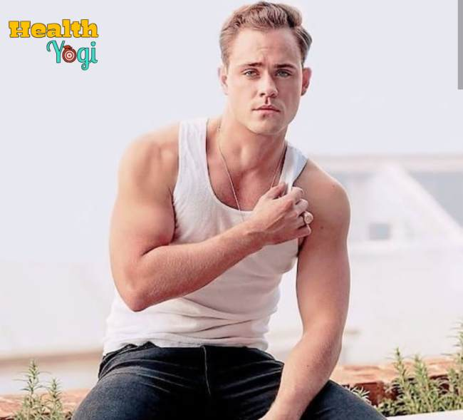 Dacre Montgomery Workout Routine and Diet Plan