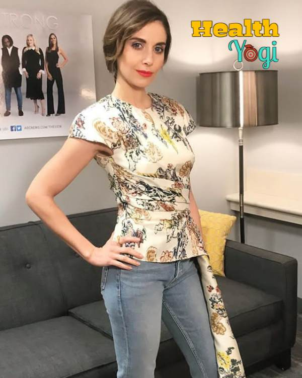 Alison Brie Workout Routine and Diet Plan