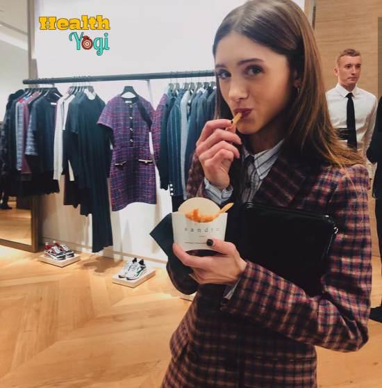 Natalia Dyer Diet