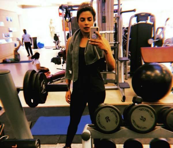 Priyanka Chopra Exercise