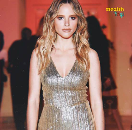 Halston Sage Workout Routine and Diet Plan