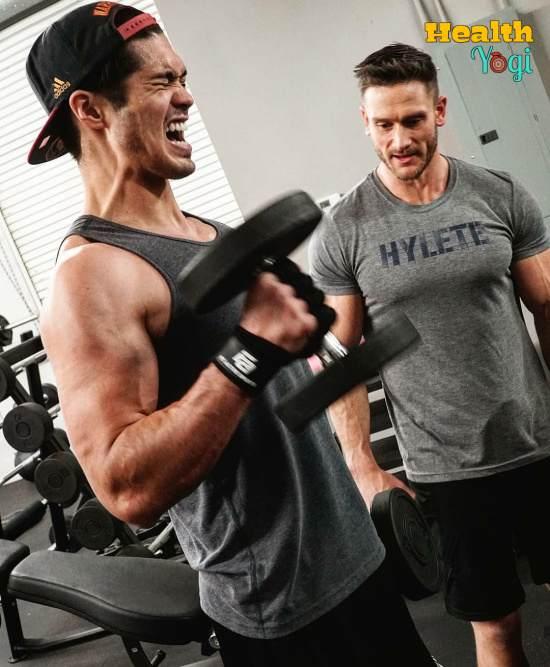 Ross Butler Workout