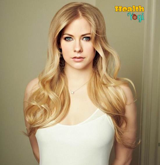 Avril Lavigne Workout Routine and Diet Plan