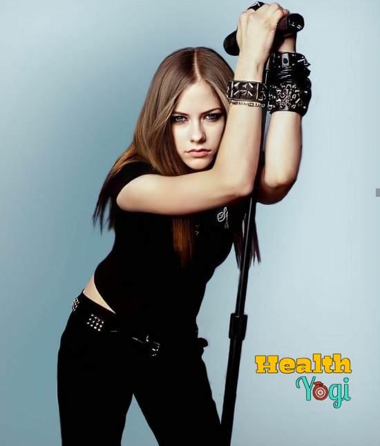 Avril Lavigne Exercise