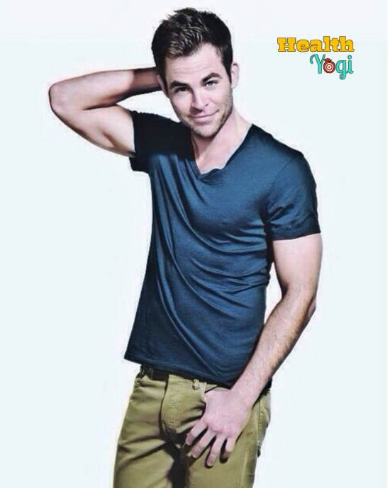 Chris Pine Workout Routine and Diet Plan