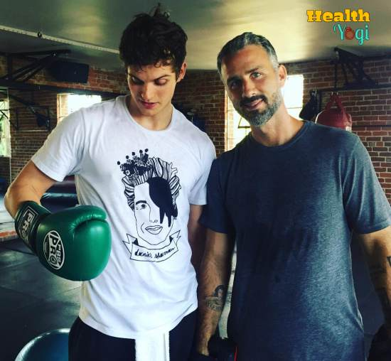 Daniel Sharman Boxing