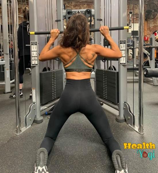 Lesley-Ann Brandt Workout Routine