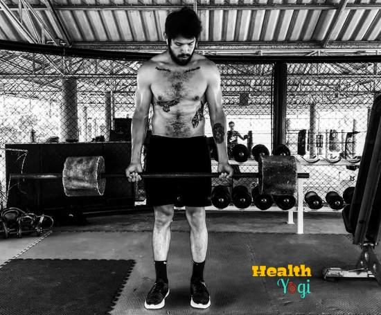 David Castañeda Workout Routine