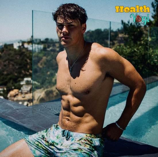 Noah Beck workout routine