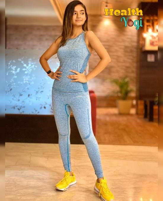 Anushka Sen Workout Routine and Diet Plan