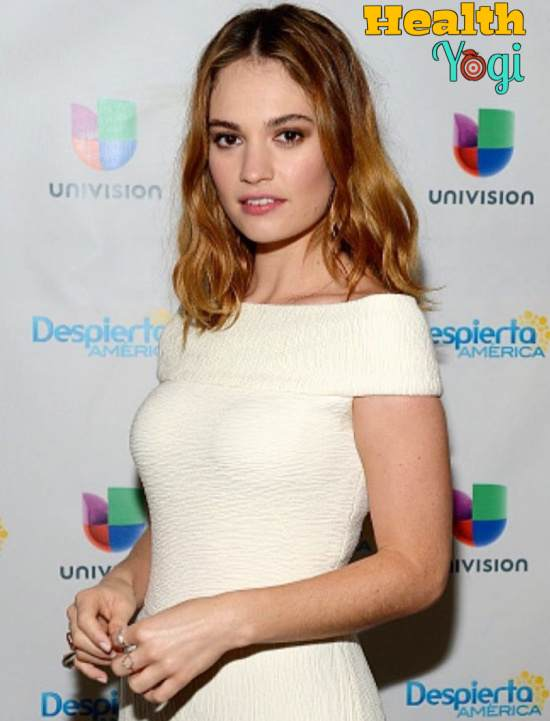 Lily James Workout Routine