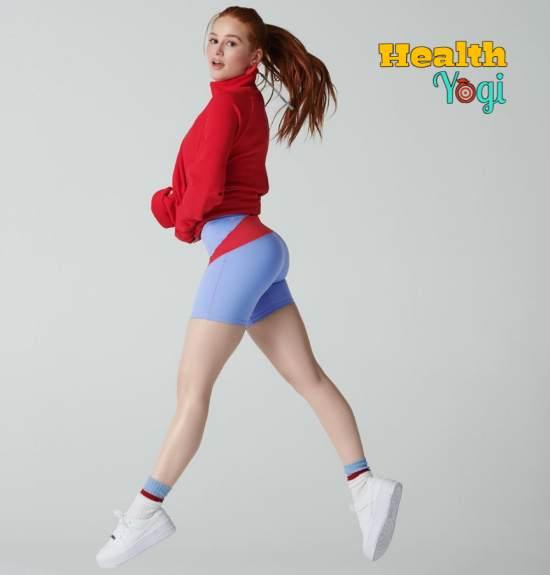 Madelaine Petsch Exercise