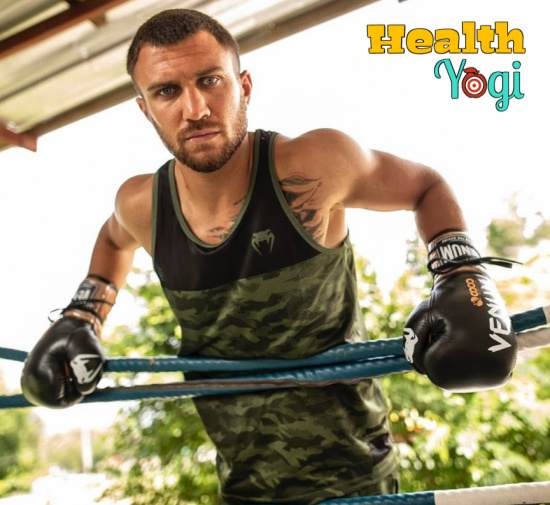 Vasyl Lomachenko Workout Routine and Diet Plan