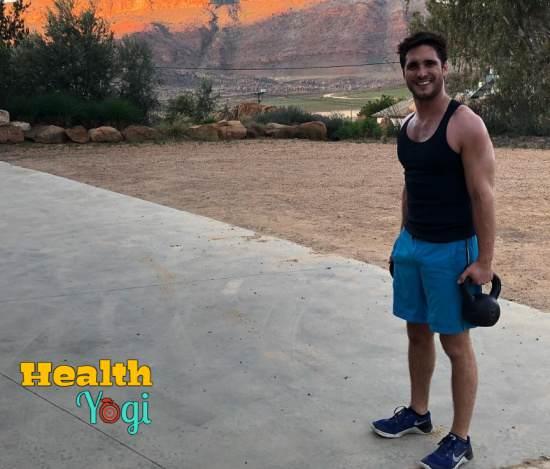 Diego Boneta Workout Routine