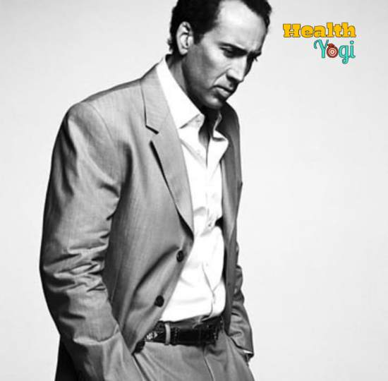 Nicolas Cage Diet Plan and Workout Routine