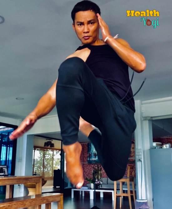 Tony Jaa Workout Routine