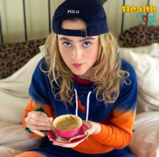 Kathryn Newton Diet Meal