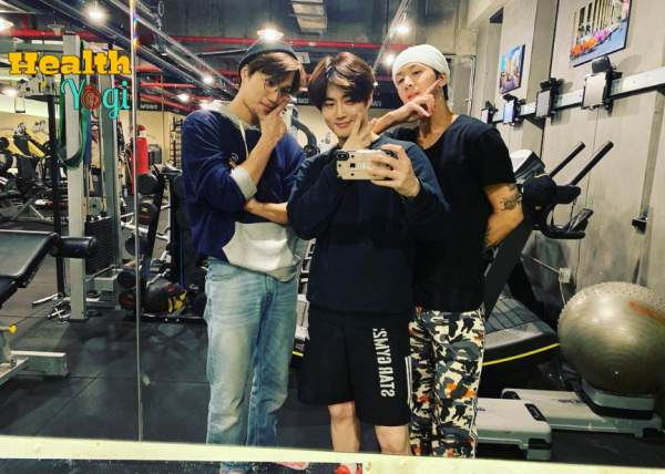 Suho at Gym