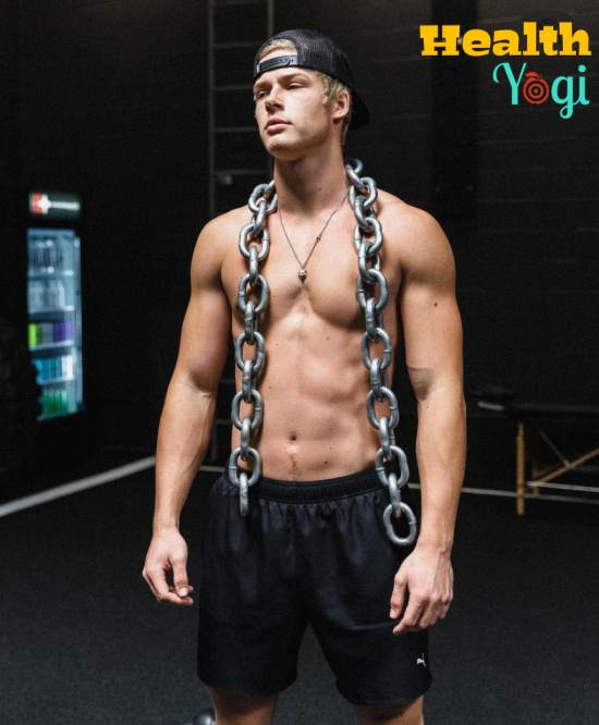 Blake Gray Diet Plan and Workout Routine
