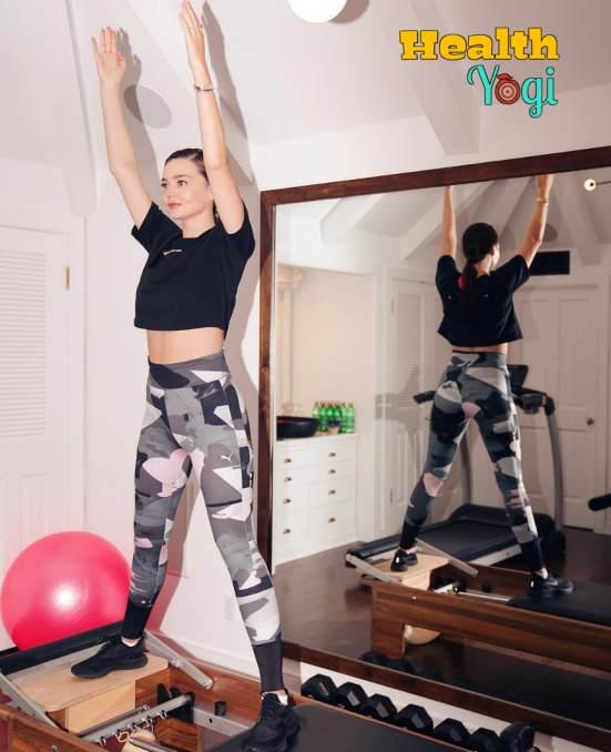 Miranda May Kerr Workout Routine