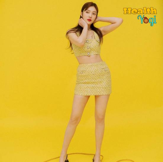 Red Velvet Singer Joy Diet Plan and Workout Routine