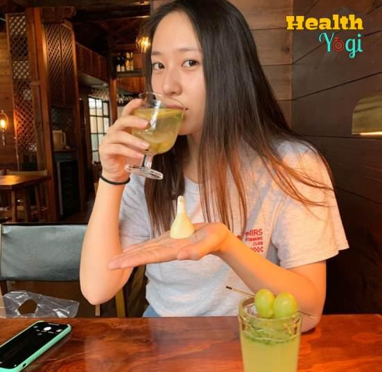 Krystal Jung Diet Plan