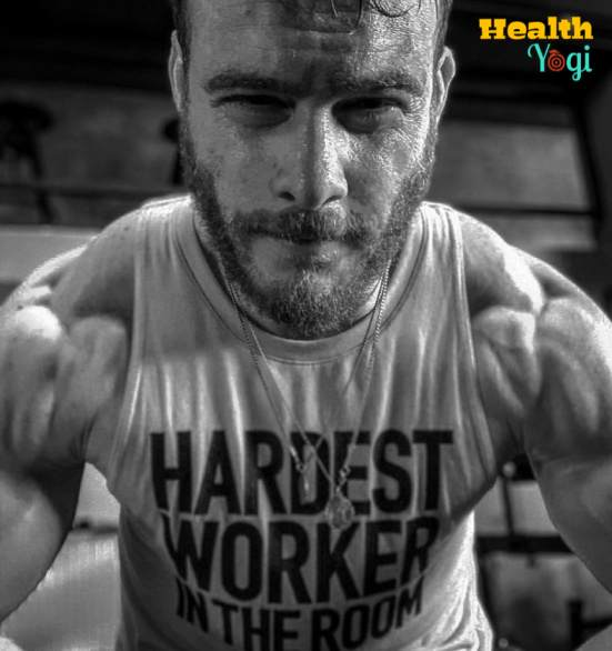 Kerem Bursin Workout Routine and Diet Plan