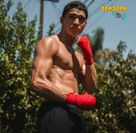 Alex Burriss Workout Routine and Diet Plan