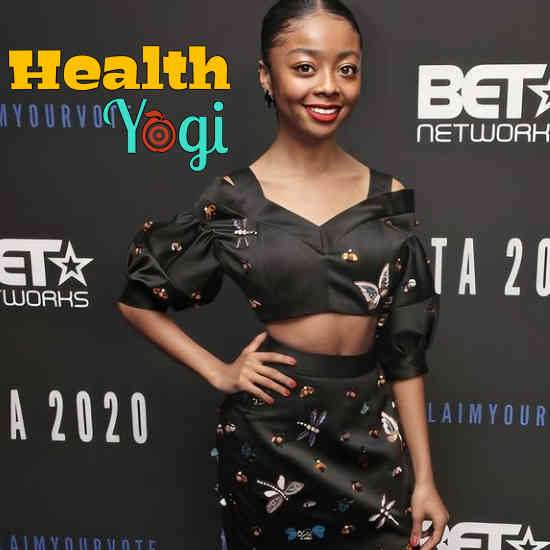 Skai Jackson Diet Plan