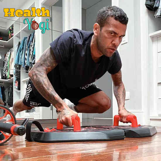 Dani Alves Workout Routine and Diet Plan