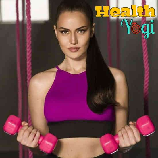 Fahriye Evcen Diet Plan and Workout Routine