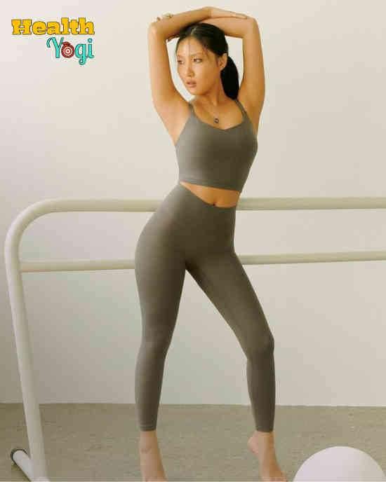 Hwasa Workout Routine