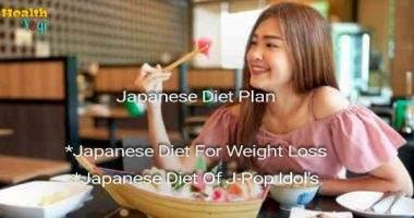 Japanese Diet Plan: Japanese Weight Loss & J-Pop Idol's Diet